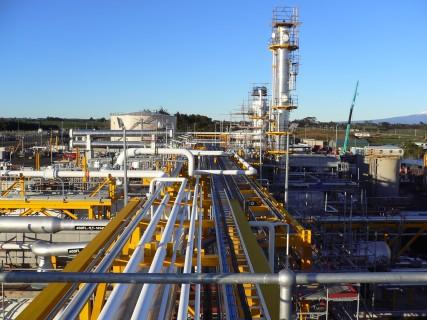 Pohokura Gas Production Station